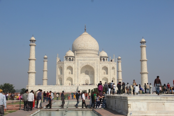 Taj Mahal, viewing platform