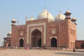 Taj Mahal, guesthouse