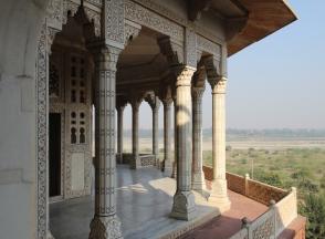 Musamman Burj balcony