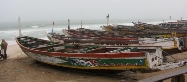 Nouadhibou, Mauritania, boats