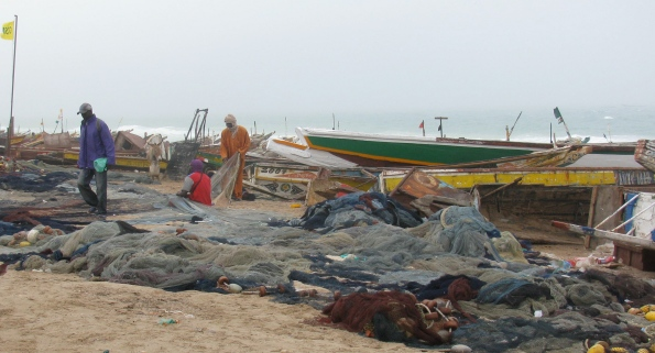Nouadhibou boats