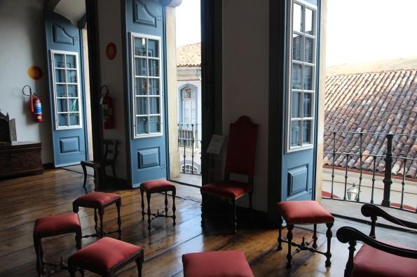 inside Casa dos Contos