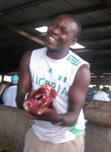 Nigerian butcher