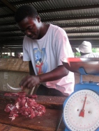Butchering in Nigeria