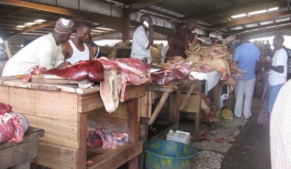 Abuja meat market