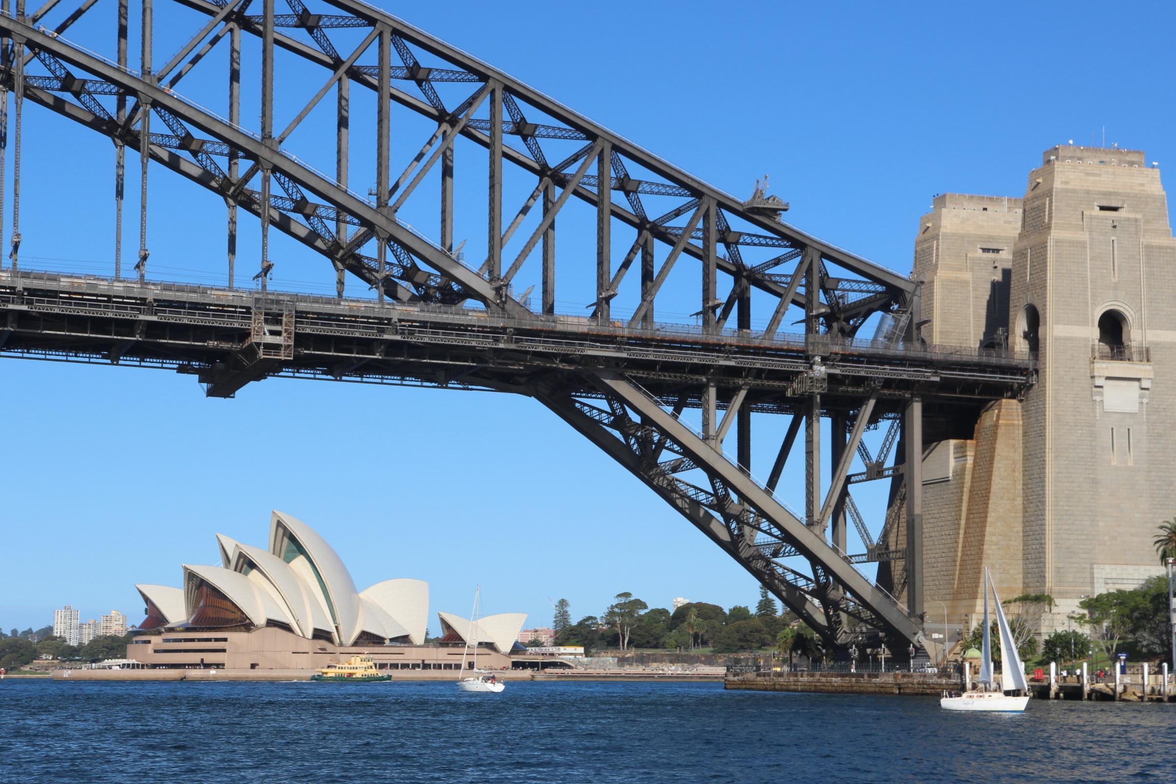 sydney harobur bridge and opera house - View Sydney Harbour Bridge And Opera House Pictures  PNG
