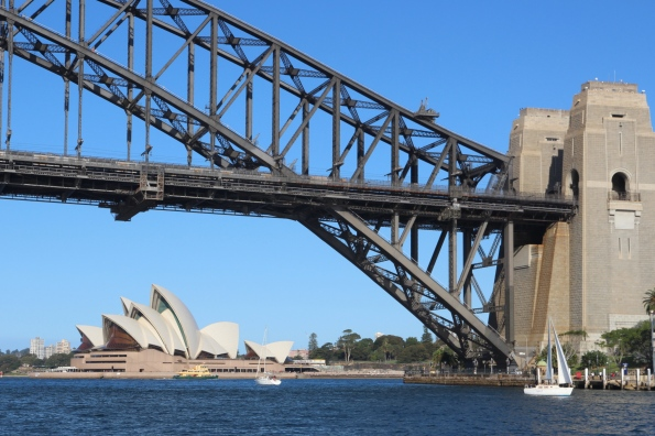 Sydney Harobur Bridge and Opera House