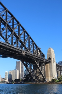 under Sydney Harbour Bridge