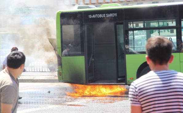 bus fire, Uzbekistan