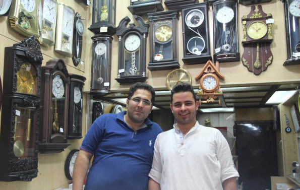 Clocks and watches, Tehran bazaar