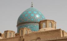 dome of tomb of Shah Nematallah, Iran