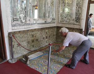 Golestan Palace housekeeping