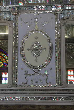 Golestan Palace, Shamsolemārah detail