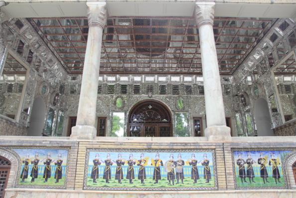 Golestan Palace, Shamsolemārah verandah