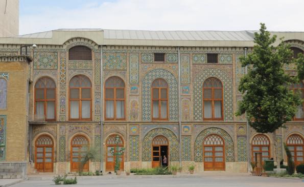 Golestan Palace, tent building