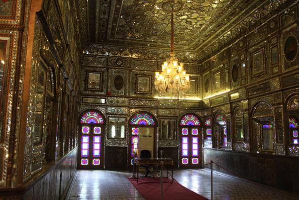 Golestan Palace, wind breaker side room