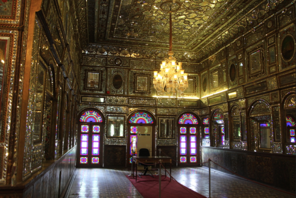 Golestan Palace, wind breaker side room