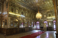 Golestan Palace, wind breaker side room2