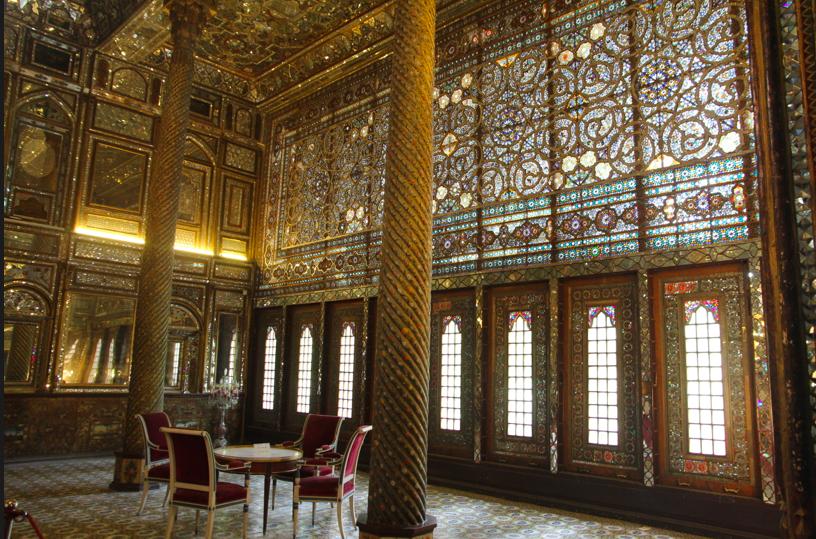 Golestan Palace Tehran S Crown Even Has A Royal Tent