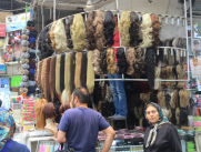 Hairpieces, Tehran bazaar