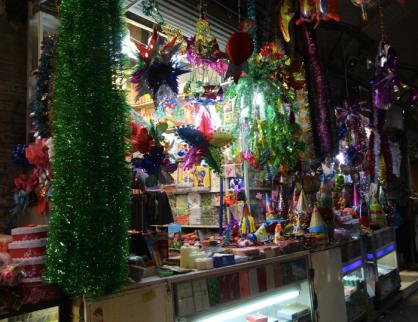 Party decorations, Tehran bazaar