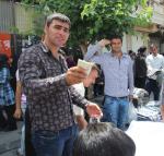 Selling clothes, Tehran,Iran