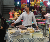 Snacks, Tehran bazaar