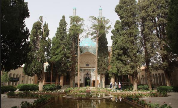Tomb garden of Shah Nematallah, Iran