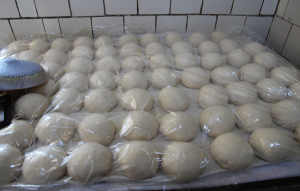 Uzbek dough ready to go
