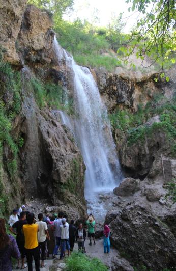 Arslanbob waterfall