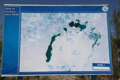 Aral Sea, 2009