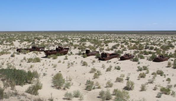 Ghost ships, Aral Sea