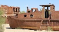 Aral Sea, ship