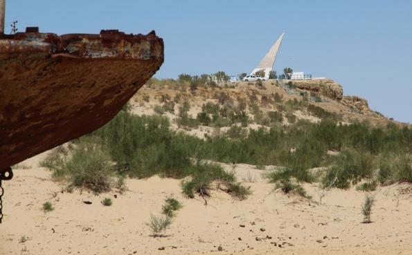 Aral Sea monument