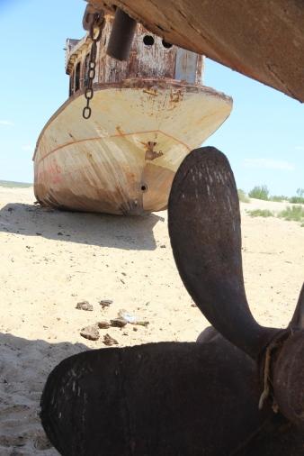 Aral Sea, propeller