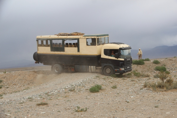 Truck unstuck