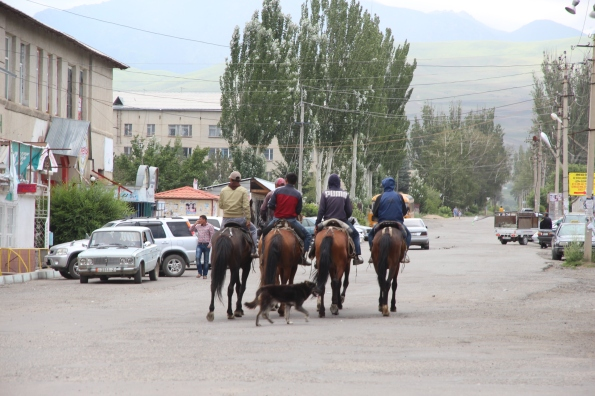 Heading home from Karakol