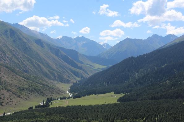 near Jeti-Öghüz, Kyrgyzstan