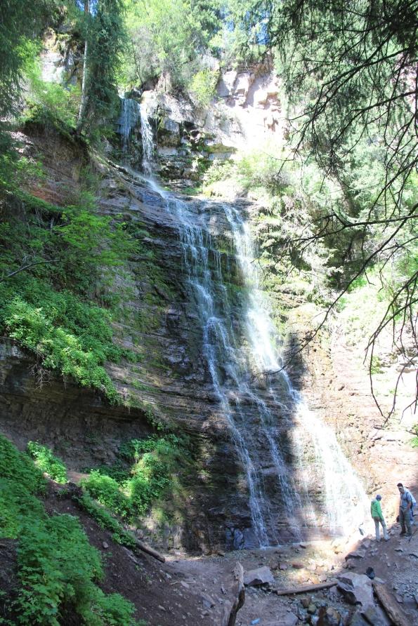 Kyrgyzstan waterfall