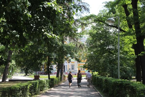 Panfilov Park, Almaty