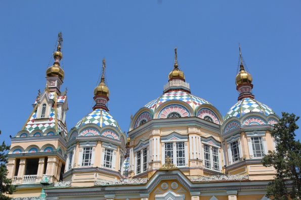 Ascension Cathedral roofline