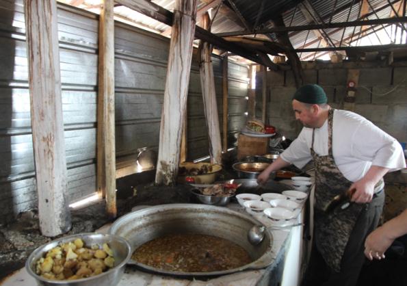 Kyrgyz kitchen
