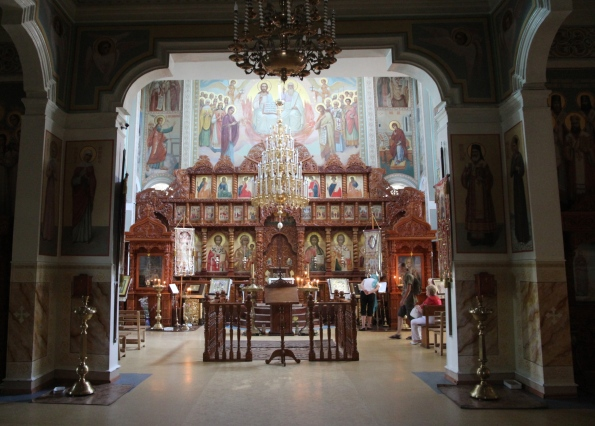 St Nicholas Cathedral interior