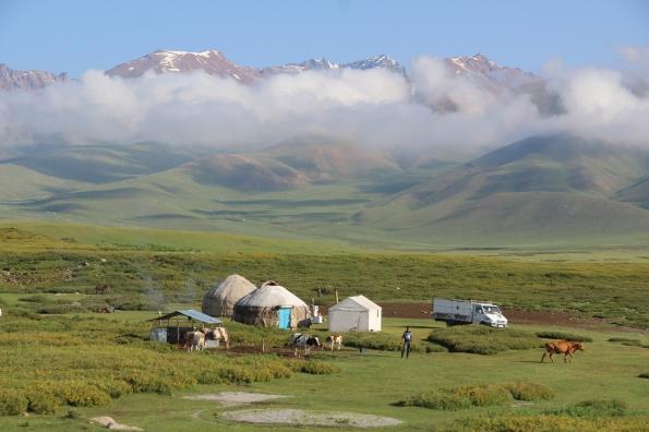 wilds of Kyrgyzstan