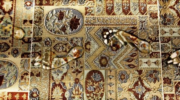 Glass carpet