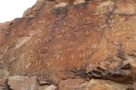 Symbol petroglyphs