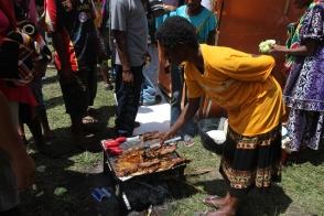 Goroka Show, food stall