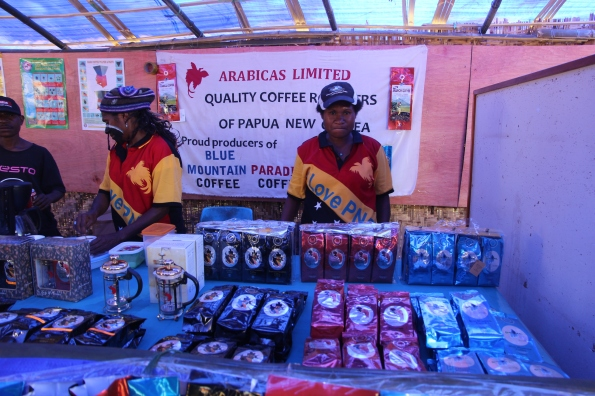 Goroka Show coffee sellers