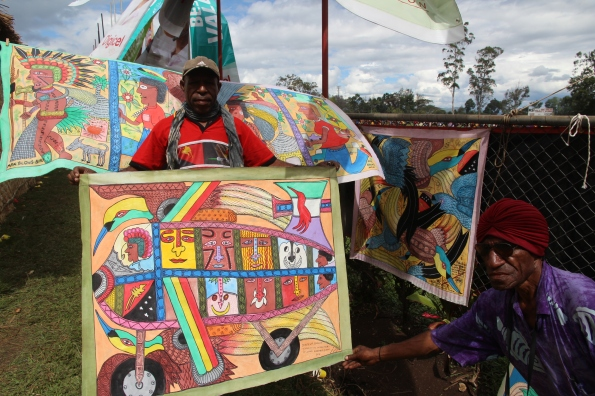 Goroka Show paintiings