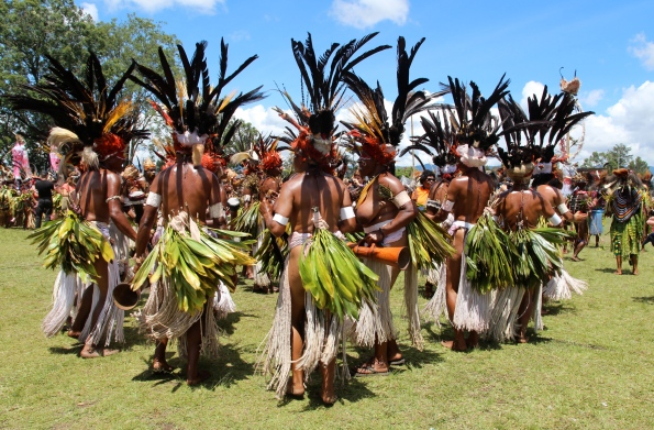 Bustles of the Goroka Show